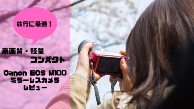 CanonミラーレスガメラM100