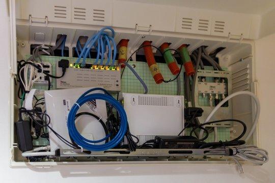 情報分電盤 ホームLANシステム 情報ボックス